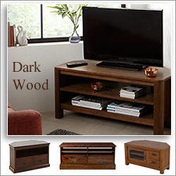 dark wood tv units - Corner Tv Stands Wooden