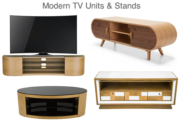 Modern TV Stands Retro Contemporary Designer Media Units