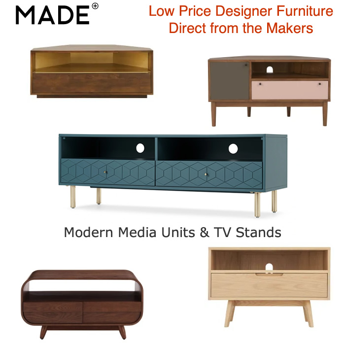 Low Price Media Units & TV Stands