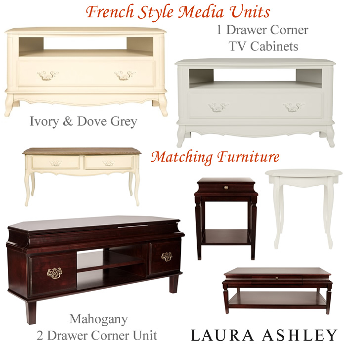 Laura Ashley French style media units